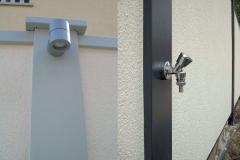 """Détail gamme """"Select"""" avec éclairage et robinet d'eau intégrés"""