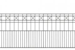 Panneau clôture Pisa